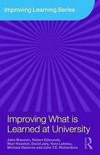 Improving What is Learned at University: An Exploration of the Social and Organi