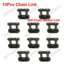 10x 25H Chain Spare Master Links For 2 Stroke Mini Moto Dirt Bike E Scooter ATV