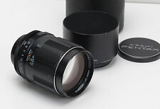 Pentax 135mm 2.5 SMC Takumar Screw Mount M42 + Hood, Caps, Case  Adapt 2 Digital