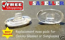 Replacement Nose Pads for Oakley Eye Glasses Sunglasses Snap In Push On Silicone