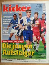 KICKER 70 - 30.8. 1999 Sebastian Deisler Schalke-HSV 1:3 Freiburg-1860 3:0