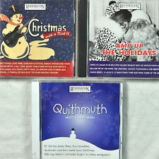Restoration Hardware Christmas 3 CD Lot Quithmuth Amp Up Holidays With Kick II