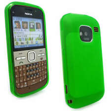 Green Jelly Case Cover Gel Skin for Nokia E5-00 E5 +SP