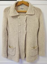NOANOA Women's Knitted Button Front ANGORA+WOOL Warm Cardigan Sweater Jumper S