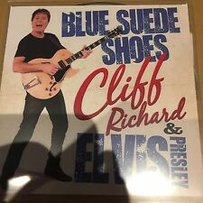 CLIFF RICHARD & ELVIS PRESLEY - BLUE SUEDE SHOES - NEW ONE TRACK CD PROMO