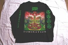 MORBID ANGEL Domination Tour Shirt Immolation Deicide Carcass Bolt Thrower Nile