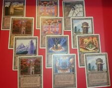 4x URZA'S POWER PLANT, TOWER, MINE - Urzatron Lands - MTG - Magic the Gathering