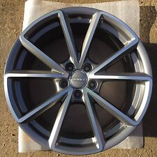 "One Audi A4 19"" 5 V Spoke Alloy Wheel 8.5J Genuine S4 Refurb B8 OEM 8K0601025CT"