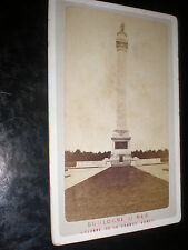 Cdv old photograph view Boulogne Column of the Grande Armée c1880s Ref 507(10)