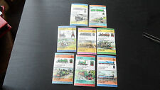 GRENADINES OF ST VINCENT 1984 - SG 311A-325A SET OF 8 PAIRS TRAINS LOCOMOTIVE