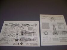 VINTAGE..SOPWITH SNIPE 7F.1...4-VIEWS/CROSS SECTIONS.....(274B)