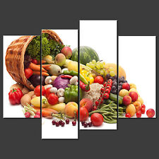 FRUITS AND VEG CANVAS WALL ART PICTURES PRINTS LARGER SIZES AVAILABLE