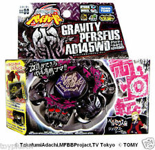 NEW TAKARA TOMY BEYBLADE METAL FUSION BB80 Gravity Destroyer Perseus+LAUNCHER LR