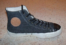 Chuck Taylor Converse All Star Wool Hi Top Shoes, Leather Trimmed Men 7, Women 9
