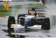 Karl Wendlinger Hand Signed Red Bull Sauber Ford F1 12x8 Photo 1.