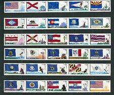 US 2008-2012 Flags of Our Nation Coils - Complete 60 Stamps, Scott 4273-4332 NH