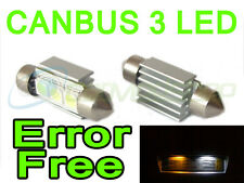 LED Rear Number Plate Bulbs Lights Replacement Ford Mondeo 93+ Mk1 Mk2 Mk3