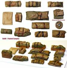 1/35 Universal Tents Tarps & Crates #8 - Value Gear Details - Resin Stowage