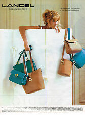 PUBLICITE ADVERTISING 025  1993  LANCEL  maroquinerie de luxe sacs