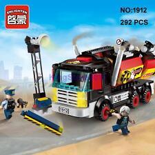 Enlighten 1912 Police Armored Car Truck DIY Building Block Toy lego Compatible