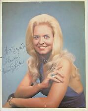 Karen Wheeler Original Autograph Country Star 1980s Blue Halter Dress