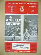 European Fairs Cup 2nd RD 1st Leg- LIVERPOOL v DYNAMO BUCHARESY