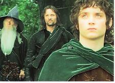 The Lord of The Rings - The Fellowship of the Ring Chrome Promo Trading Card P1