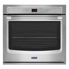 """Maytag MEW7527DS 27"""" Single Wall Oven, Precision Cooking Stainless"""