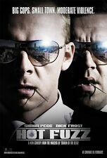 Hot Fuzz movie poster (B) - Simon Pegg poster, Nick Frost poster