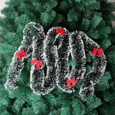 12x Christmas Tree Bowknot Xmas Hanging Ornament Party Home House Red Decoration