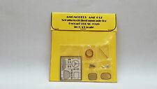 SET P/E UPGRADE FOR FERRARI 166 SC '48 1/43 BY AMG AMF-012 N/ AMR BOSICA MG TRON