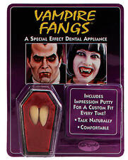 Vampire Teeth Fang Caps Count Dracula Halloween Fancy Dress