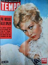 TEMPO n°37 1957  Kim Novak - Annunzio Mantovani - Curzio Malaparte  [C90]