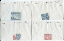 Germany GDR DDR Collection - Mixed Condition Issues - Cat Value $235+