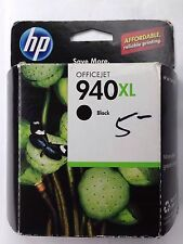 New NIB HP 940XL OfficeJet Black Ink Cartridge (8000 8500 8500A 8500A) Genuine