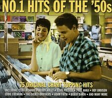 No. 1 Hits Of The '50s (2012, CD NEU)2 DISC SET
