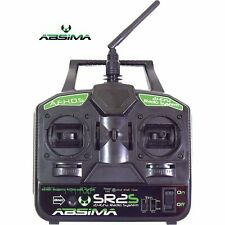 Absima 2000021 SRS2 2.4Ghz 2-Channel Twin Stick Radio with Receiver for RC Kits