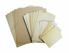 30PC Pre-Cut Sandpaper 3 Assorted Sizes Sand Wood Paint Metal Hardware Use