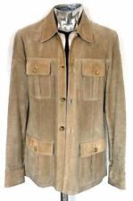 Gucci Perforated Suede Leather Safari Jacket EU50 Large RRP £1890 Tom Ford Coat