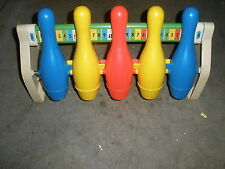 Vintage Fisher Price Toys Bowling Game Model 100 Ages 3-8