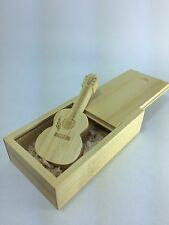 [READY STOCK] Wooden Guitar Pendrive 16GB