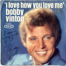 Bobby Vinton ‎– I Love How You Love Me, Little Barefoot Boy (1968 A&M) 5-10397