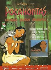 X0868 Pocahontas - Colonna Sonora Disney - Pubblicità del 1995 - Advertising