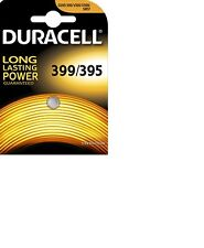 1 Batteria D395-399 AG7 DURACELL pulsante ossido d'argento