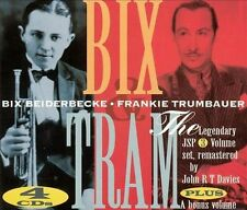 Bix & Tram [Box] by Bix Beiderbecke (CD, Aug-2002, 4 Discs, JSP (UK))