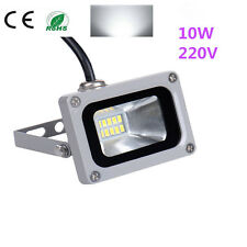 10W 220V SMD LED Cool White HIGH POWER Flood Light Garden Security Light IP65