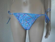 AMERICAN APPAREL BLUE STRING BIKINI SWIMSUIT BOTTOMS SIZE SMALL
