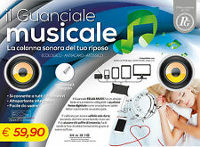 OFFERTA : GUANCIALE CUSCINO MUSICALE Sistema Audio Integrato Ipod Iphone Mp3