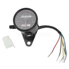 Universal Digital Motorcycle Odometer Speedometer Speedo Meter W/ Backlight