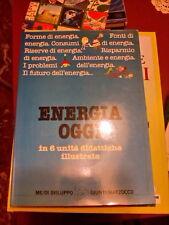 LIBRO ENERGIA OGGI IN 6 UNITA' DIDATTICHE ILLUSTRATE ME/DI SVILUPPO GIUNTI 1984
